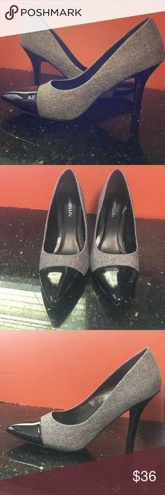 New Marbella grey heels Only tried on once, I bought them but they are too big, plus I never wear heels. Size 8 M. marbella  Shoes Heels