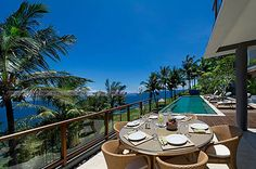 Malimbu Cliff Villa on Indonesia's Lombok Island ~ beautiful places to visit in Indonesia.
