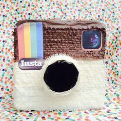 Instagram Birthday Party, Instagram Party, Paper Mache, Tween, Diy Tutorial, Lunch Box, Papier Mache, Bento Box