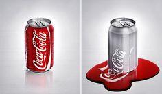 Digital Painting - Melting Coca Cola