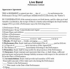 Temporary guardianship letter sample bagnas sample for Musicians contract template