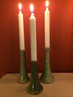 Ceramic wheelthrown candle stick (or single flower vase). ef70d4d010363