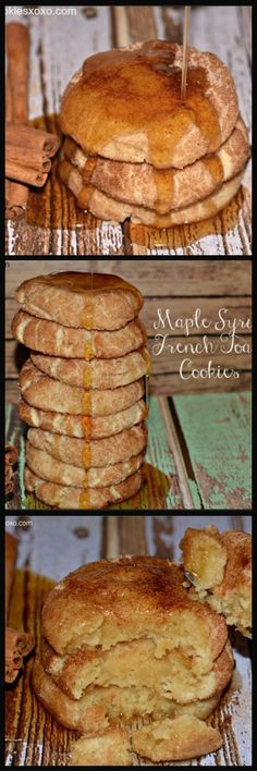 French Toast Cookies With Maple Syrup