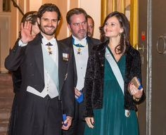Sweden Royals attend the formal gathering of the Swedish Academy