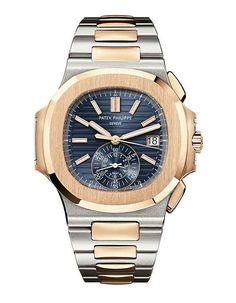 www.watchtime.com   watch to watch    Patek Philippe Ref. 5980 Nautilus Chronograph   Patek Philippe Nautilus Chrono 560 #patekphilippe #nautilus