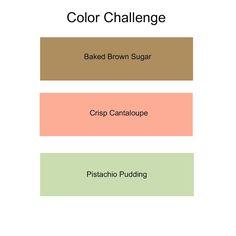 Stamptastic Designs: July 2013 Color Challenge