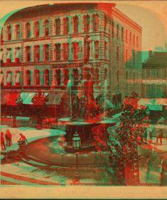Davidson fountain, Cincinnati, Ohio. 1865?-1895?
