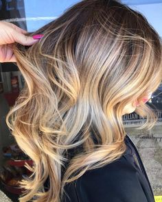 """4,114 Likes, 34 Comments - ✨BALAYAGE & BEAUTIFUL HAIR (@bestofbalayage) on Instagram: """"Molasses✖️Butterscotch Lava By @prissyhippiebeautyshop #bestofbalayage #showmethebalayage"""""""