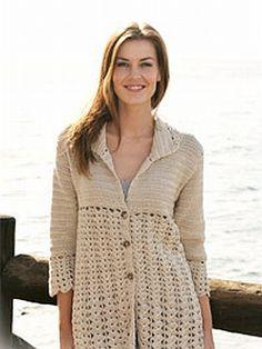 crochet pattern - fantan jacket ༺✿ƬⱤღ✿༻