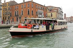 If you're traveling to Venice, Italy, you should know how to use the vaporetto, a form of public transportation. Learn more about the water bus.