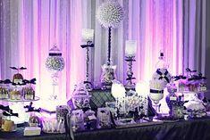 purple candy buffet, photography by Khang Nguyen, Houston, Texas