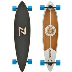 Z-Flex Longboard Pintail Complete (White) $99.95
