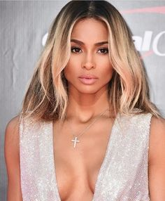 @Ciara looked GORG at the #Espys with her #fauxbob  Hair by @cesar4styles and classic glam look by @yolondafrederick #voiceofhair ========================== Go to VoiceOfHair.com ========================= Find hairstyles and hair tips! =========================