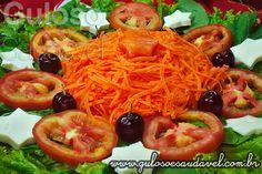 Salada Mix com Folhas Verdes » Receitas Saudáveis, Saladas » Guloso e Saudável
