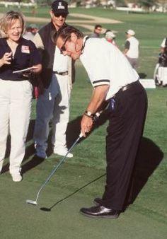 Glenn Frey plays some golf