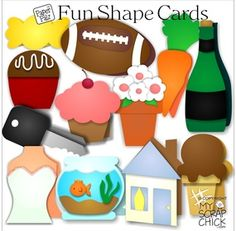 Shape Cards Vol. 3: click to enlarge