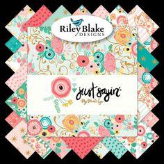 More 100/% Cotton Craft Girls White Sunglasses Riley Blake Fabric FQ
