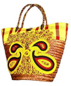 Handmade Straw Basket with beautiful design