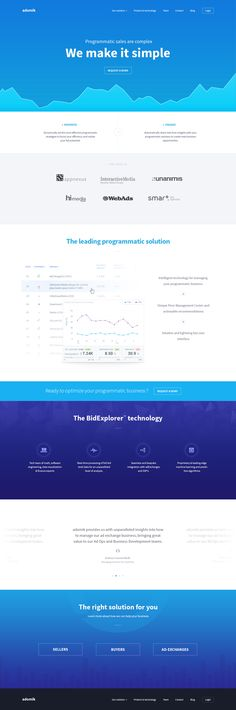 Website product homepage by Aurélien Foutoyet