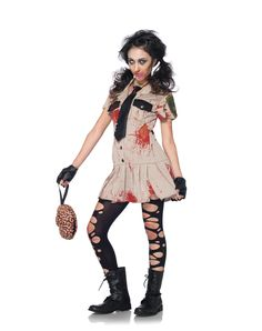 Perfect Tween Costumes For Girls | ... Couple Costumes / Zombie Costumes / Officer  Braineater
