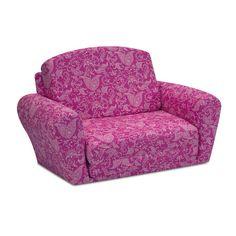 KidzWorld Paisley Kids Sleeper Sofa & Reviews | Wayfair