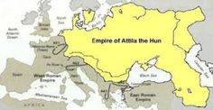 Unique Facts About Europe: Attila the Hun Attila The Hun, Turkish People, Unique Facts, North Sea, Black Sea, British Isles, World History, People Around The World, Roman