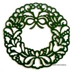 Cottage Cuts Die Cuts | Cottage Cutz Die-Cut Shapes - Elegant Wreath (5pk)
