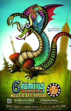 Desfile y concurso de Alebrijes 2012.Poster by Mexico Today, via Flickr