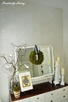 Morrocan Starry Night Stencil Wall Royal Design Studio : Creatively Living