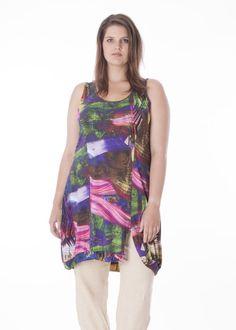 A-line tunic dress