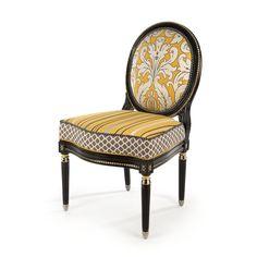 MacKenzie-Childs | Queen Bee Side Chair- Front