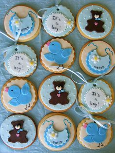 It's a boy cookies by bubolinkata, via Flickr