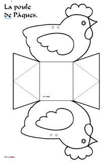 Un tangram aux formes courbes, pour créer des silhouettes