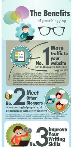 8 Huge Benefits of Guest Blogging for SEO