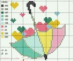 53 ideas embroidery patterns free baby punto croce for 2019 Mini Cross Stitch, Cross Stitch Heart, Cross Stitch Cards, Cross Stitching, Cross Stitch Embroidery, Wedding Cross Stitch Patterns, Cross Stitch Designs, Modele Pixel Art, Beaded Cross