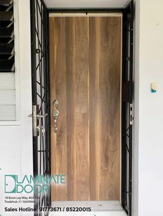 HDB Non-Fire Rated Door Supplier in Singapore - Laminate Door House Main Door, Fire Rated Doors, Singapore, Maine, Water, Easy, Painting, Home Decor, Gripe Water