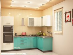 Interior Designers in Chennai - Modern Interior Design Concepts Provides Best&Good Interior Design For Home, Small Houses, Apartments, Living Room In India. L Shaped Modular Kitchen, L Shaped Kitchen, Oak Cabinets, Kitchen Cabinets, Layout Design, Design Ideas, Color Schemes Design, Rustic Room, Living Room Color Schemes