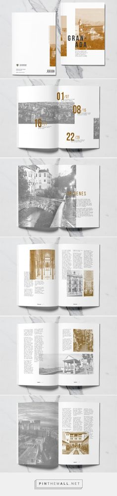 Guía Granada on Behance - created via https://pinthemall.net