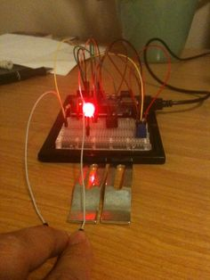 Homemade Lie Detector.  Using galvanic skin response, this arduino based homemade lie detector actually works!  Check out http://www.cranklin.com for schematics and source code.