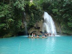 Filipinler Kawasan Şelalesi #Filipinler http://www.resimbulmaca.com/doga-resimleri-/resimleri/filipinler-kawasan-elalesi.html