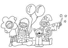Malvorlagen Karneval 08 | Ausmalbilder und Malvorlagen