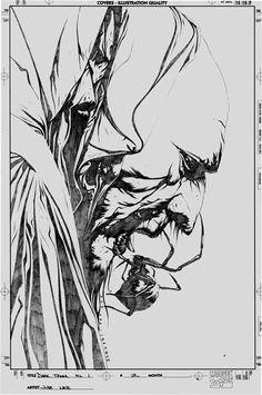 Jae Lee - The Dark Tower Gunslinger Born Cover Art, in Mike K's Marvel Gallery Comic Art Gallery Room Comic Book Artists, Comic Artist, Comic Books Art, Dark Tower Art, The Dark Tower, Manga Drawing, Manga Art, Jae Lee, Stephen King