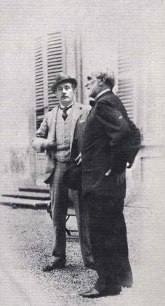 Giuseppe Verdi and Giacomo Puccini.