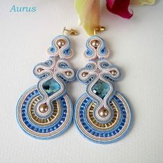 Aurus: sierpień 2011, soutache earrings