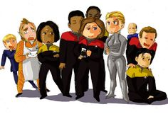 Voyager crew by imabubble.deviantart.com on @deviantART