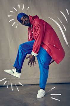 André 3000 Brings His Unique Style to Tretorn's Fall Campaign