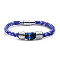 Aagaard Mens Jewelry Nylon Rope Bracelet No 1224