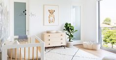 See how a designer created a cozy but sophisticated nursery in a contemporary Mar Vista home.