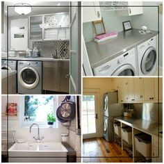 Stainless steel bench-top in the laundry?   Katrina from The Block : The Blog