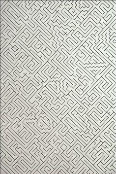Dream Journal, dream - Hypnotic schizophrenia and repressed memories, maze, drawing